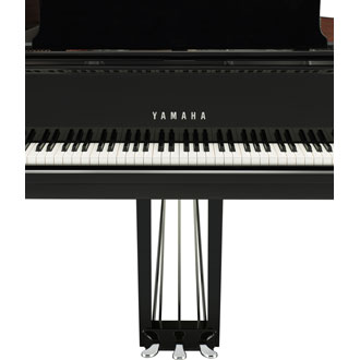 C2X Yamaha Medium Grand Piano Chrome Petals