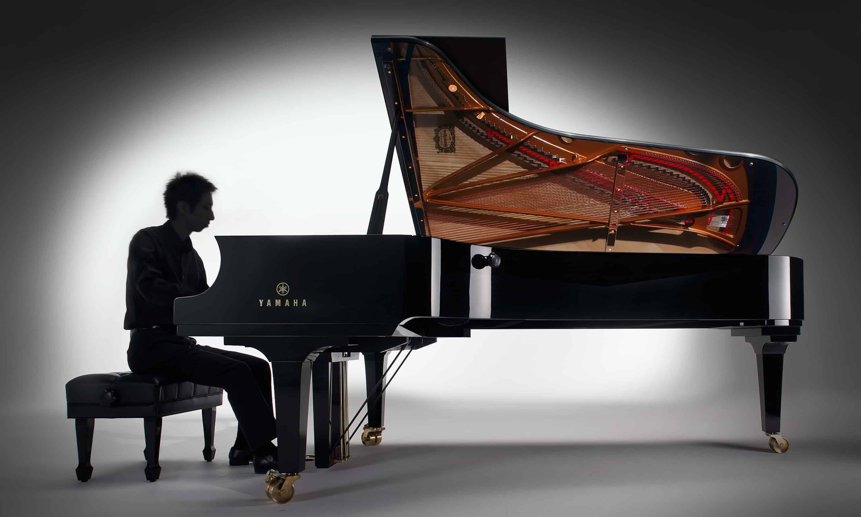 Yamaha cfx concert grand piano piano gallery of utah for Www home piani foto