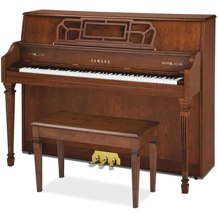 Yamaha m560 ornate wood upright piano piano gallery of utah for Yamaha piano upright
