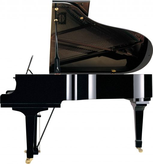 Yamaha C3X Grand Piano Side View