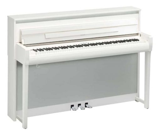 Yamaha CLP-685 Polished White Digital Piano