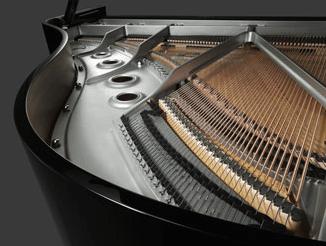 Nickel Finish Piano