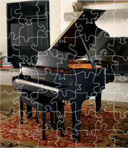 Piano Puzzle Surprise