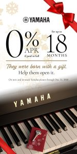 Holiday Piano Sale Utah Yamaha