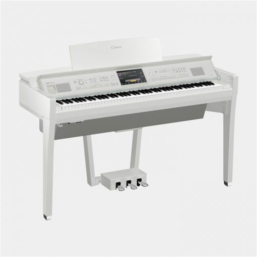 Yamaha CVP 809 Polished White Digital Piano Clavinova Utah