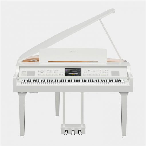 Polished White Digital Grand Piano CVP-809GP