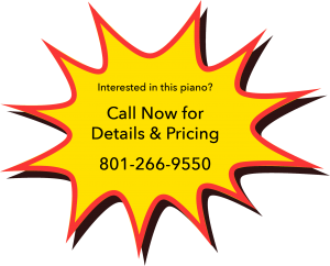 Piano on sale - click to call piano gallery for sale price