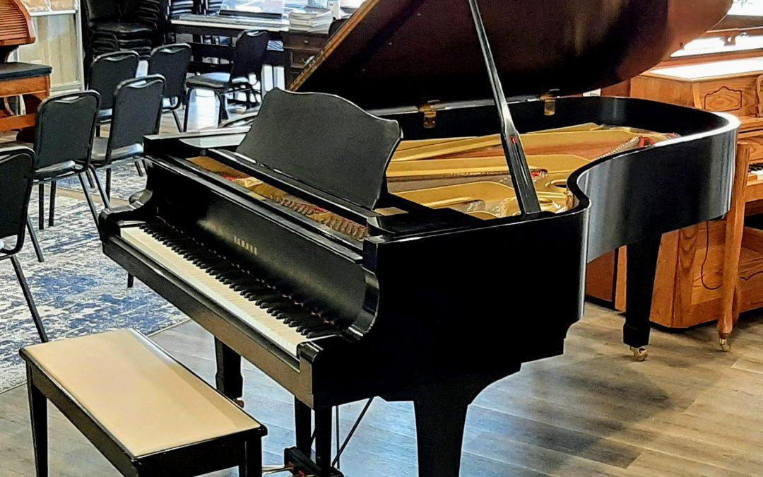 Yamaha C7 Conservatory Grand Piano in Satin Ebony – St George