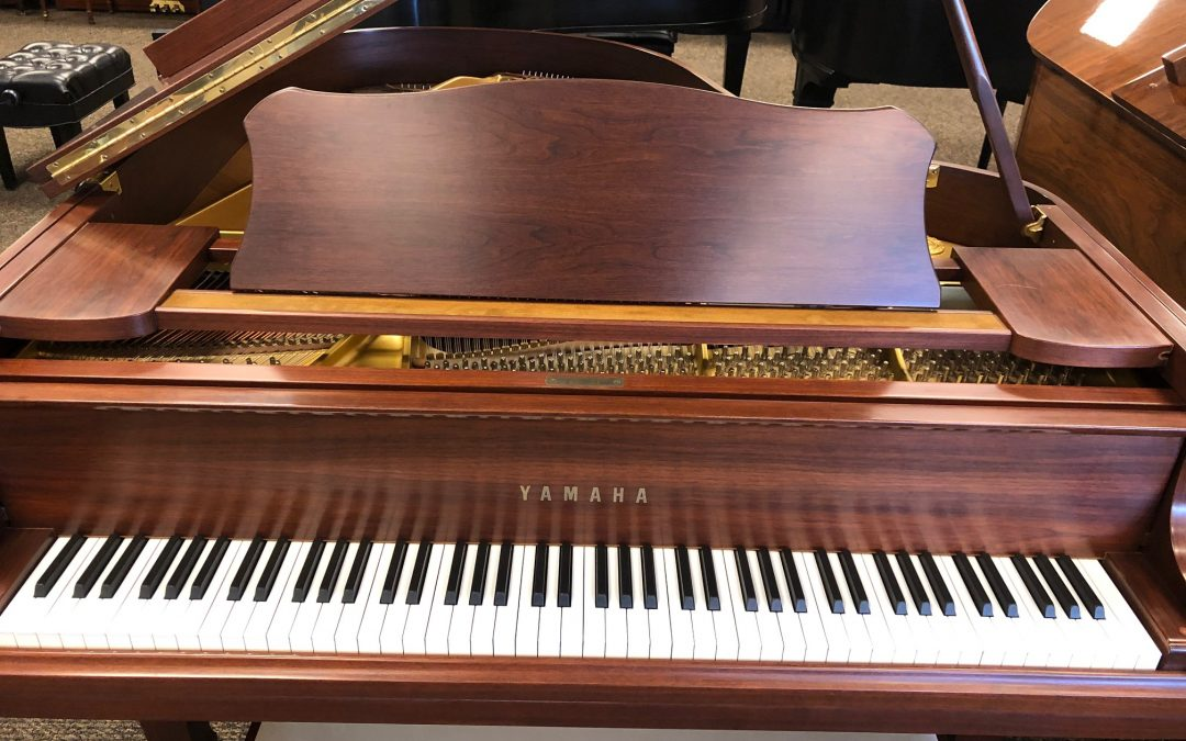 Yamaha G2 5'7″ Satin Walnut Grand Piano – Orem Store