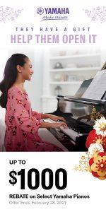 Piano Sale Rebates Utah February 2021