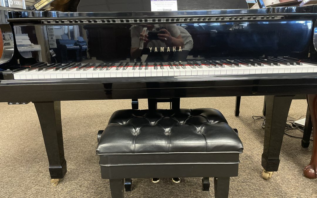 1982 YAMAHA G2 5'8″ Grand Piano Fantastic Condition! – Murray