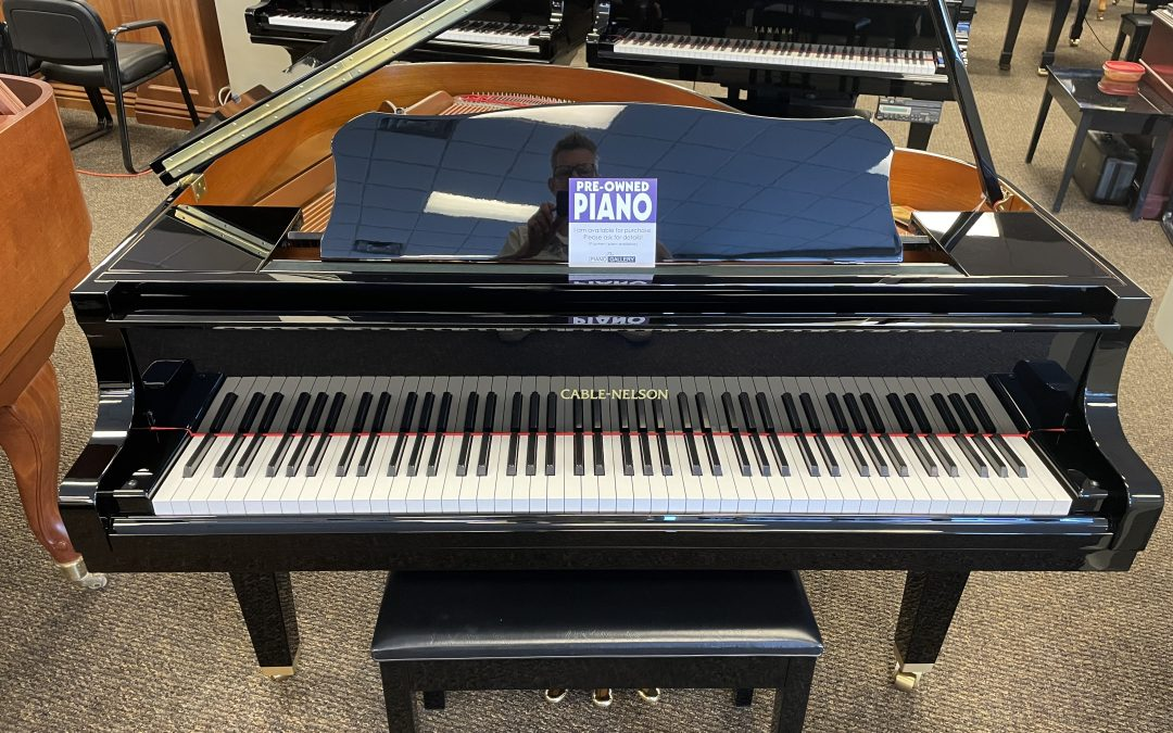 YAMAHA Cable-Nelson Model 5'3″ Grand Piano in Mint Condition! – Murray